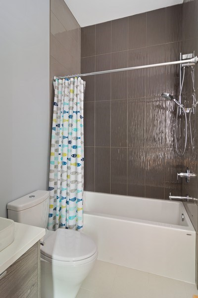 Real Estate Photography - 1613 N Honore, Chicago, IL, 60622 - 2nd Bathroom
