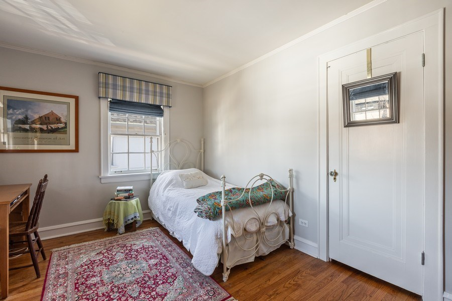 Real Estate Photography - 1942 Thornwood Ave, Wilmette, IL, 60091 - 2nd Bedroom