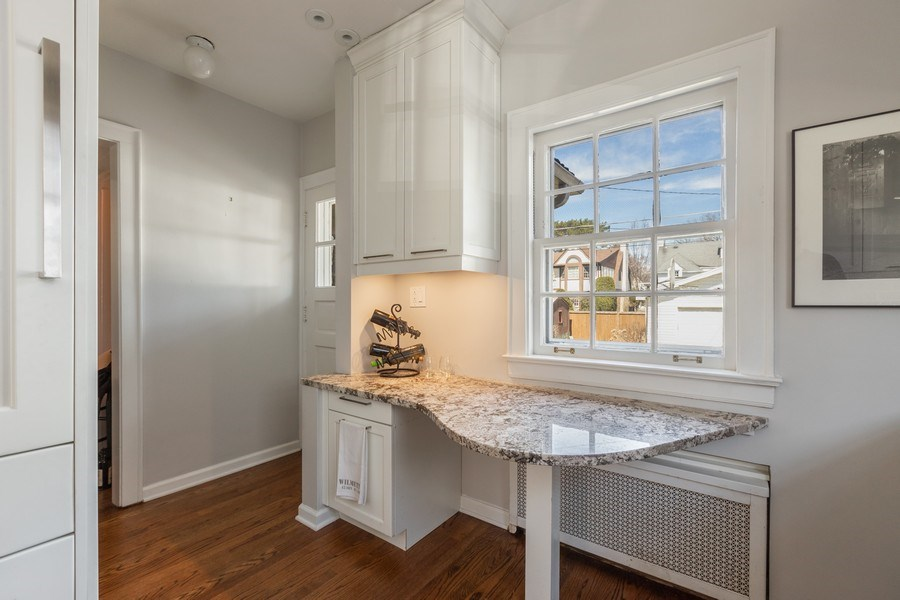 Real Estate Photography - 1942 Thornwood Ave, Wilmette, IL, 60091 - Kitchen