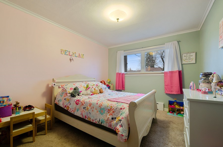 Real Estate Photography - 8039 Parkside, Morton Grove, IL, 60053 - 2nd Bedroom