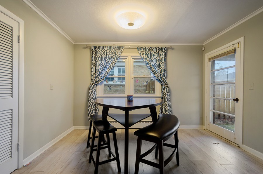 Real Estate Photography - 8039 Parkside, Morton Grove, IL, 60053 - Dining Room