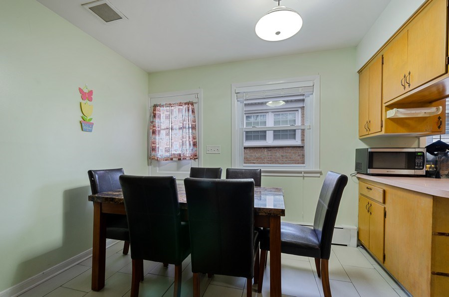 Real Estate Photography - 8039 Parkside, Morton Grove, IL, 60053 - Breakfast Area