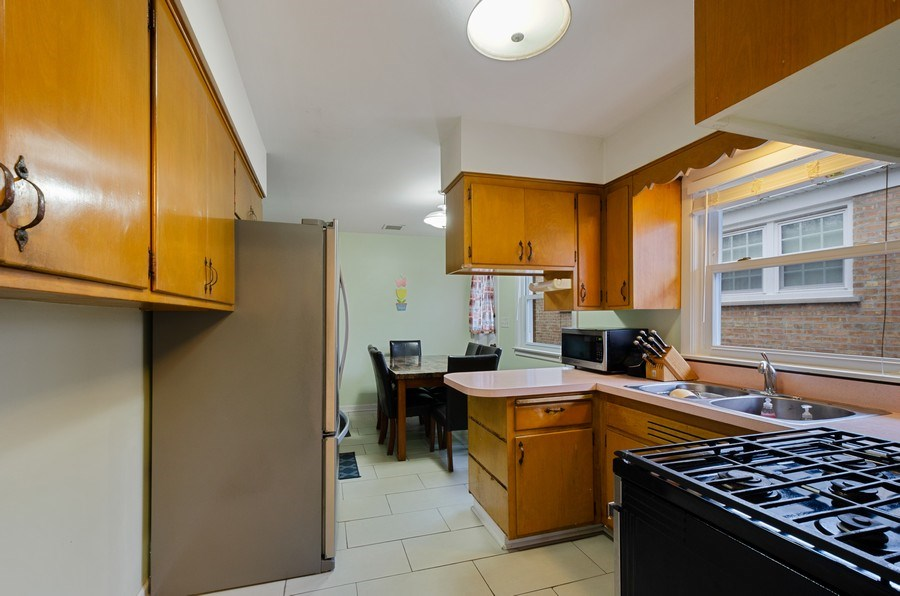Real Estate Photography - 8039 Parkside, Morton Grove, IL, 60053 - Kitchen