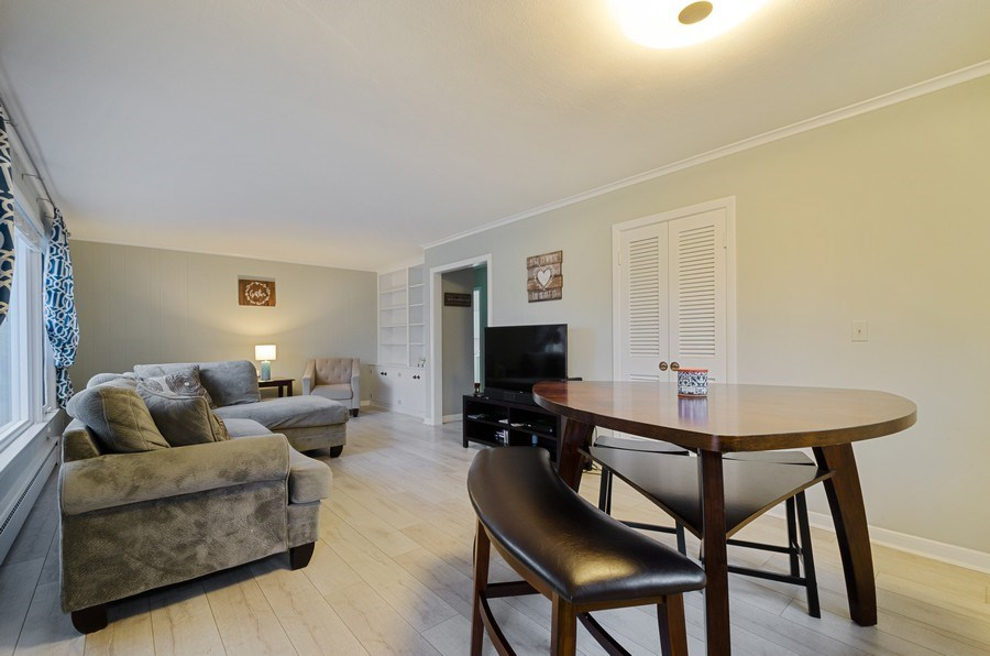 Real Estate Photography - 8039 Parkside, Morton Grove, IL, 60053 - Living Room/Dining Room