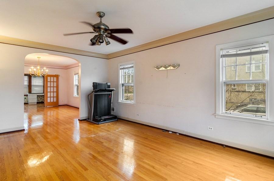 Real Estate Photography - 5801 N. Bernard Street, --------, Chicago, IL, 60659 - Living Room