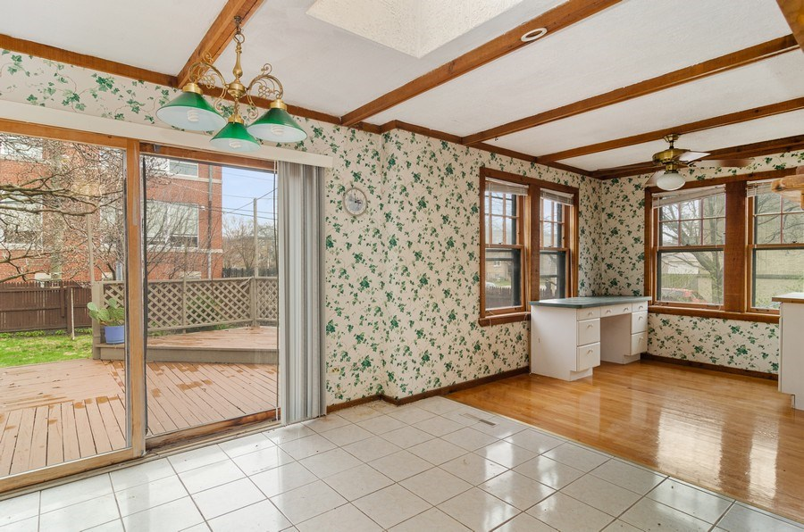 Real Estate Photography - 5801 N. Bernard Street, --------, Chicago, IL, 60659 - Kitchen / Breakfast Room