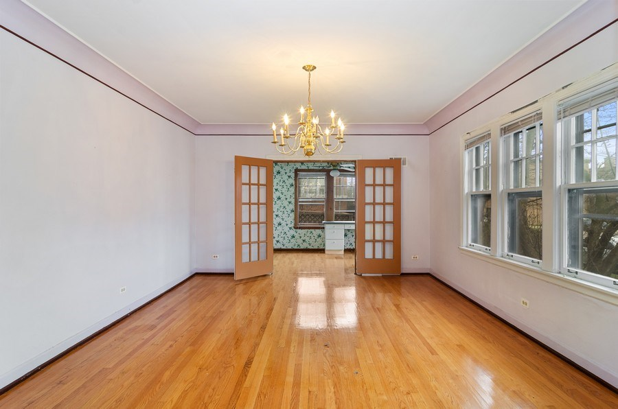 Real Estate Photography - 5801 N. Bernard Street, --------, Chicago, IL, 60659 - Dining Room
