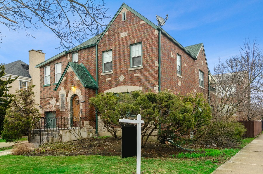 Real Estate Photography - 5801 N. Bernard Street, --------, Chicago, IL, 60659 - Exterior Front