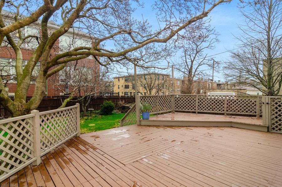 Real Estate Photography - 5801 N. Bernard Street, --------, Chicago, IL, 60659 - Deck