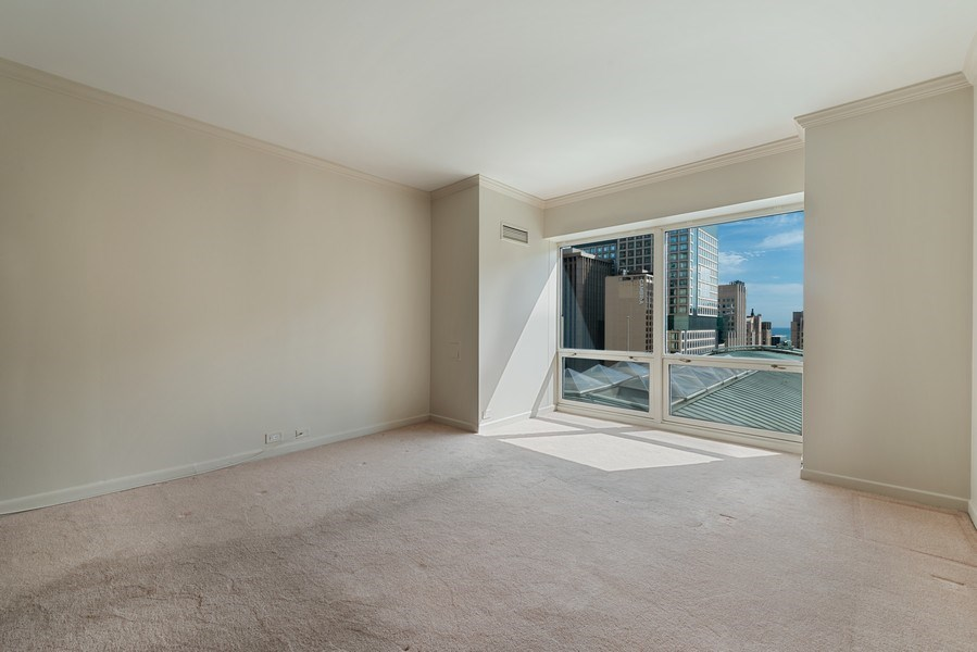 Real Estate Photography - 100 E Huron, 1104, Chicago, IL, 60610 - 2nd Bedroom