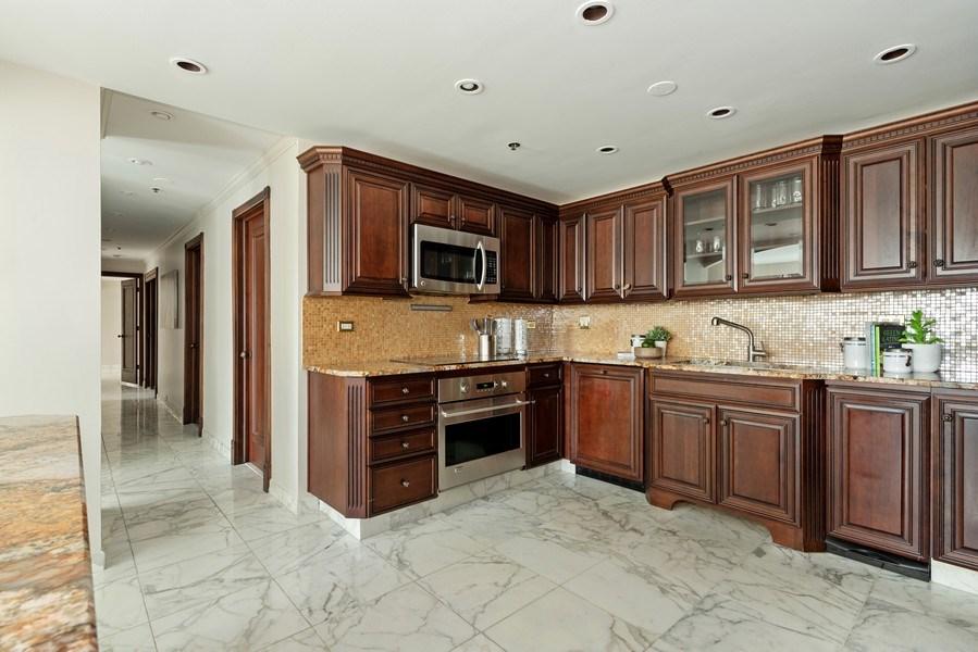 Real Estate Photography - 100 E Huron, 1104, Chicago, IL, 60610 - Kitchen