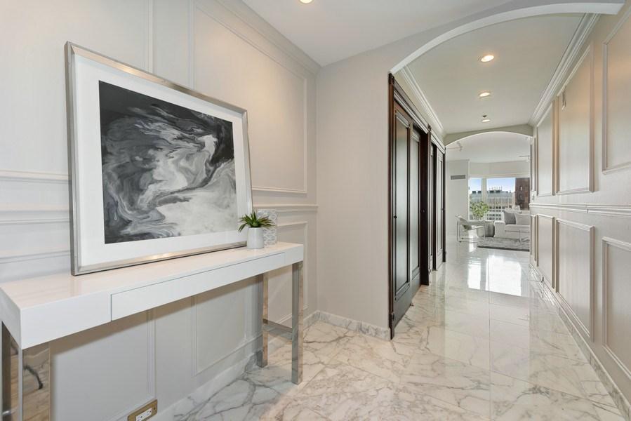 Real Estate Photography - 100 E Huron, 1104, Chicago, IL, 60610 - Foyer