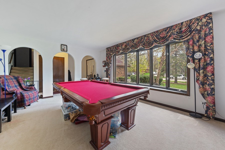 Real Estate Photography - 16W700 Fern Street, Willowbrook, IL, 60527 - Living Room