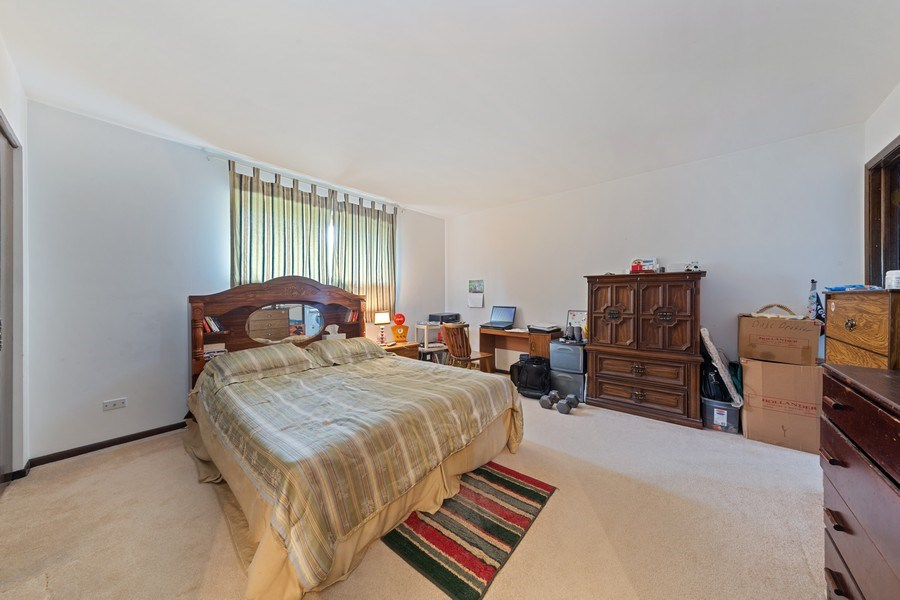 Real Estate Photography - 16W700 Fern Street, Willowbrook, IL, 60527 - Master Bedroom