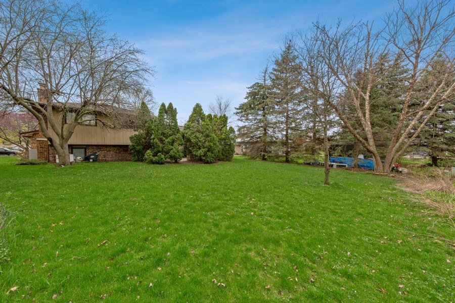 Real Estate Photography - 16W700 Fern Street, Willowbrook, IL, 60527 - Back Yard