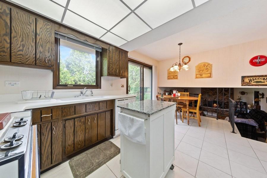 Real Estate Photography - 16W700 Fern Street, Willowbrook, IL, 60527 - Kitchen