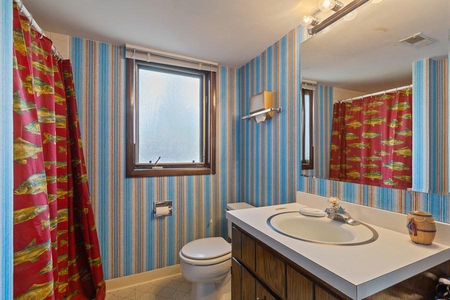 Real Estate Photography - 16W700 Fern Street, Willowbrook, IL, 60527 - Bathroom