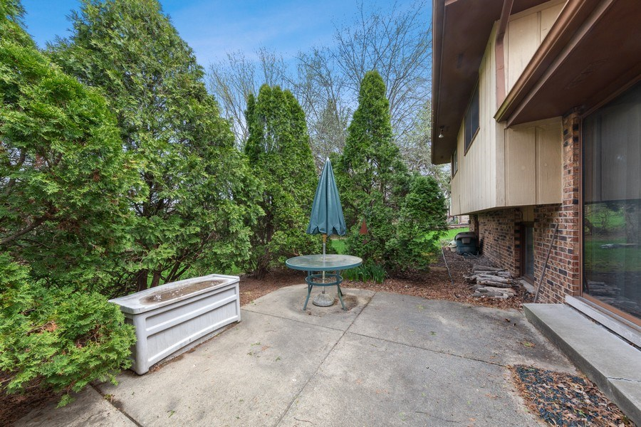 Real Estate Photography - 16W700 Fern Street, Willowbrook, IL, 60527 - Patio
