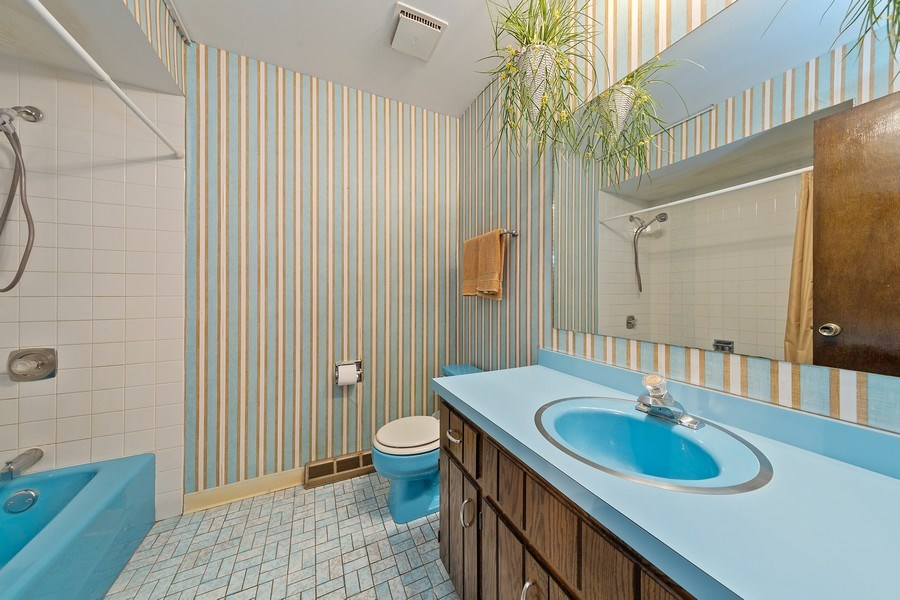 Real Estate Photography - 16W700 Fern Street, Willowbrook, IL, 60527 - 2nd Bathroom