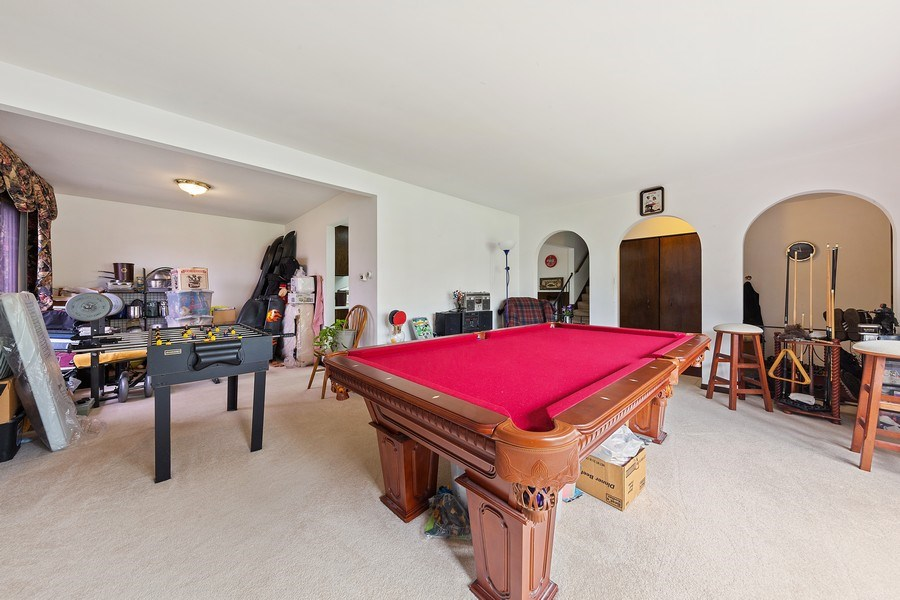 Real Estate Photography - 16W700 Fern Street, Willowbrook, IL, 60527 - Living Room / Dining Room