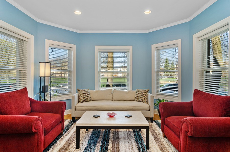 Real Estate Photography - 4619 N. Lawndale Ave #1, Chicago, IL, 60625 - Living Room