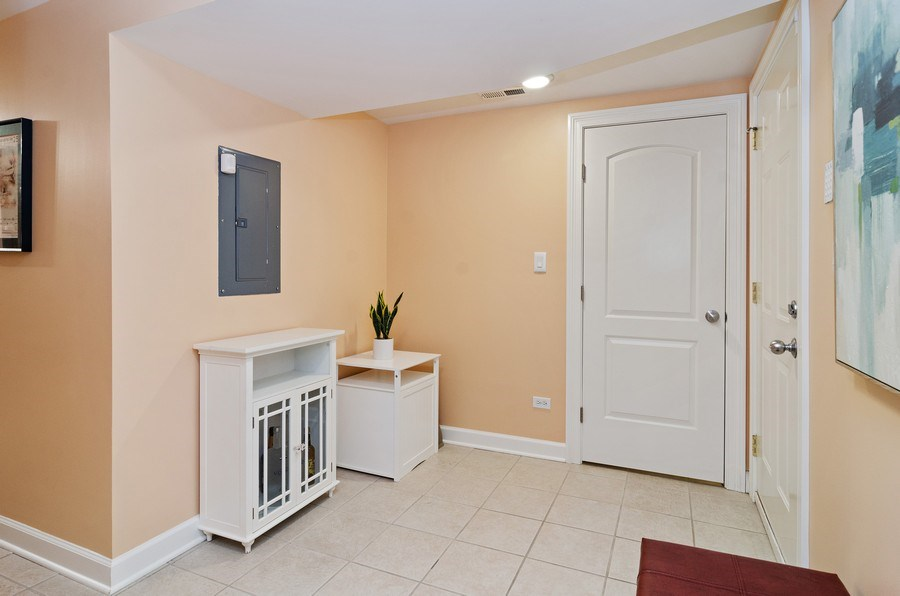 Real Estate Photography - 4619 N. Lawndale Ave #1, Chicago, IL, 60625 - Back  entrance
