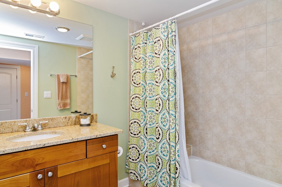 Real Estate Photography - 4619 N. Lawndale Ave #1, Chicago, IL, 60625 - 2nd Bathroom