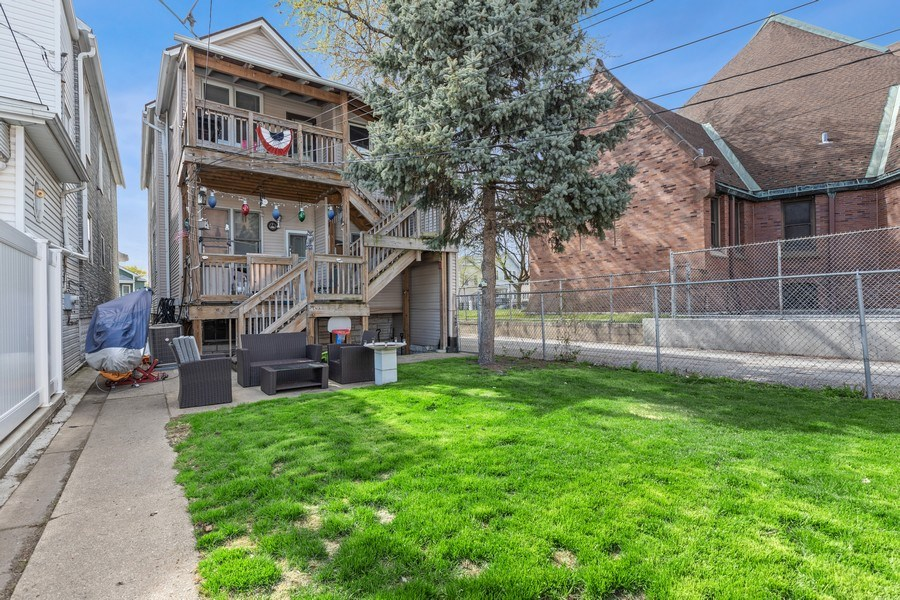 Real Estate Photography - 4523 S Lowe, Chicago, IL, 60609 - Back Yard
