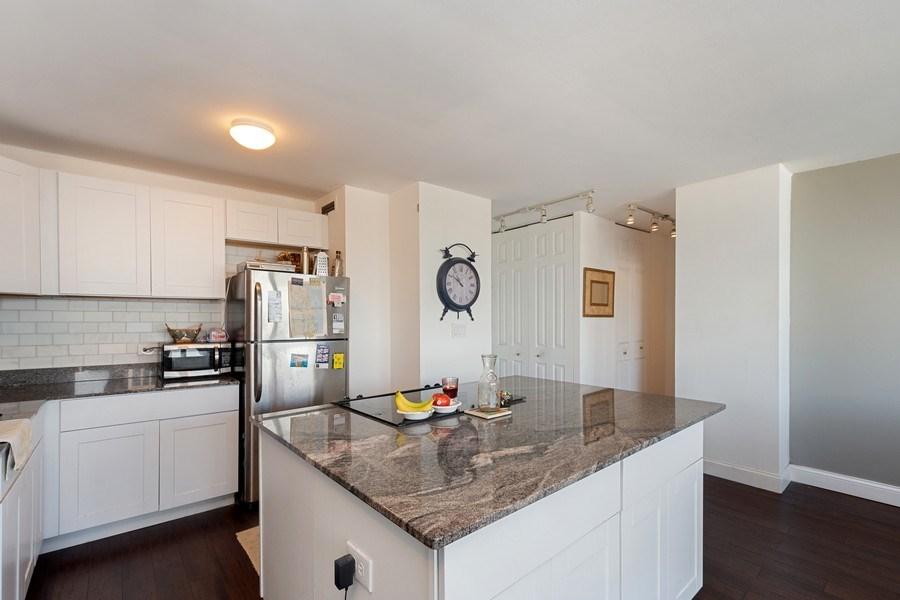 Real Estate Photography - 1360 N Sandberg Ter., Unit 2808C, Chicago, IL, 60610 - Kitchen