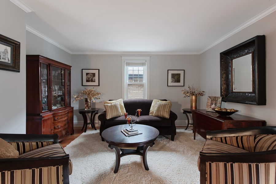 Real Estate Photography - 432 S Courtland Ave., Park Ridge, IL, 60068 - Living Room