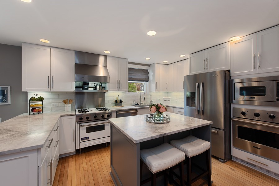Real Estate Photography - 432 S Courtland Ave., Park Ridge, IL, 60068 - Kitchen