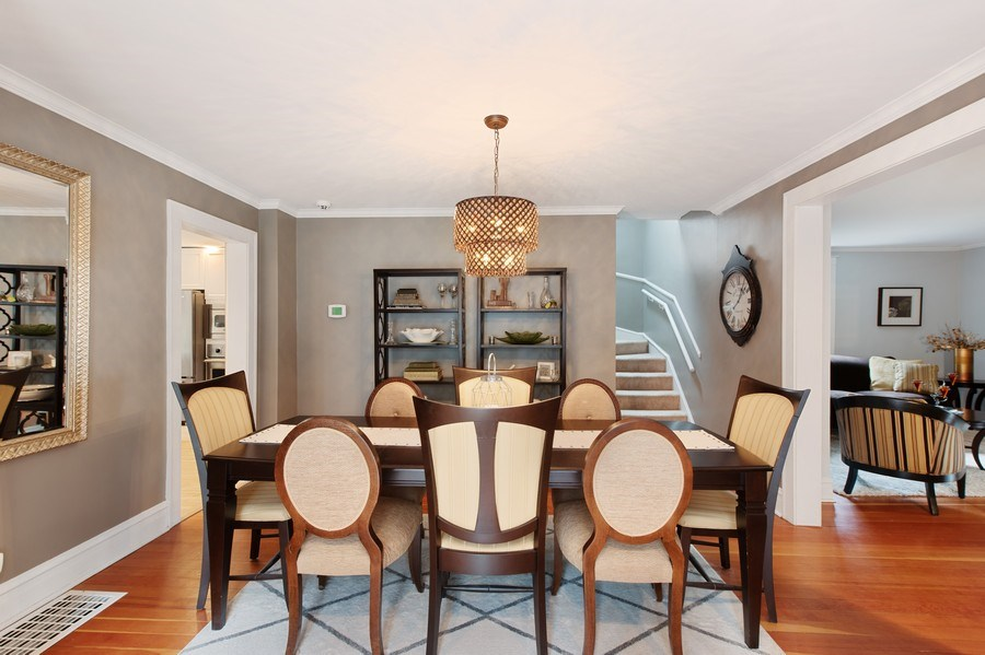 Real Estate Photography - 432 S Courtland Ave., Park Ridge, IL, 60068 - Dining Room