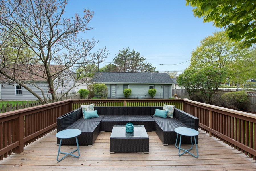 Real Estate Photography - 432 S Courtland Ave., Park Ridge, IL, 60068 - Deck