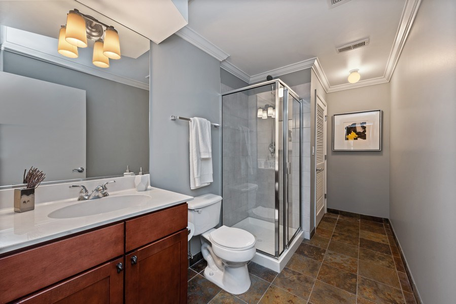 Real Estate Photography - 1012 N. Crosby, Chicago, IL, 60610 - 3rd Bathroom