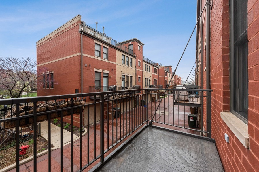 Real Estate Photography - 1012 N. Crosby, Chicago, IL, 60610 - Terrace