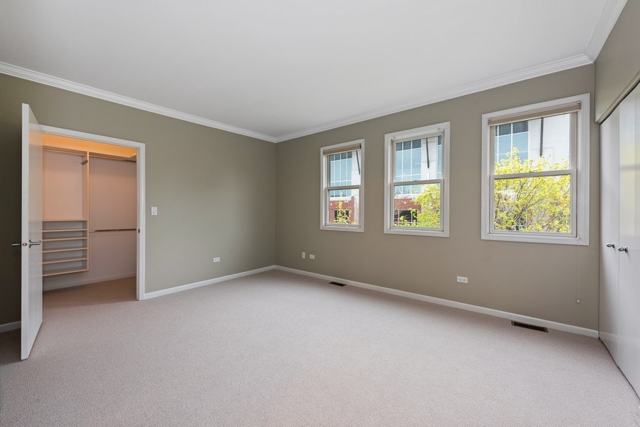 Real Estate Photography - 1012 N. Crosby, Chicago, IL, 60610 - Master Bedroom