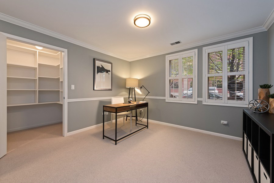 Real Estate Photography - 1012 N. Crosby, Chicago, IL, 60610 - 3rd Bedroom