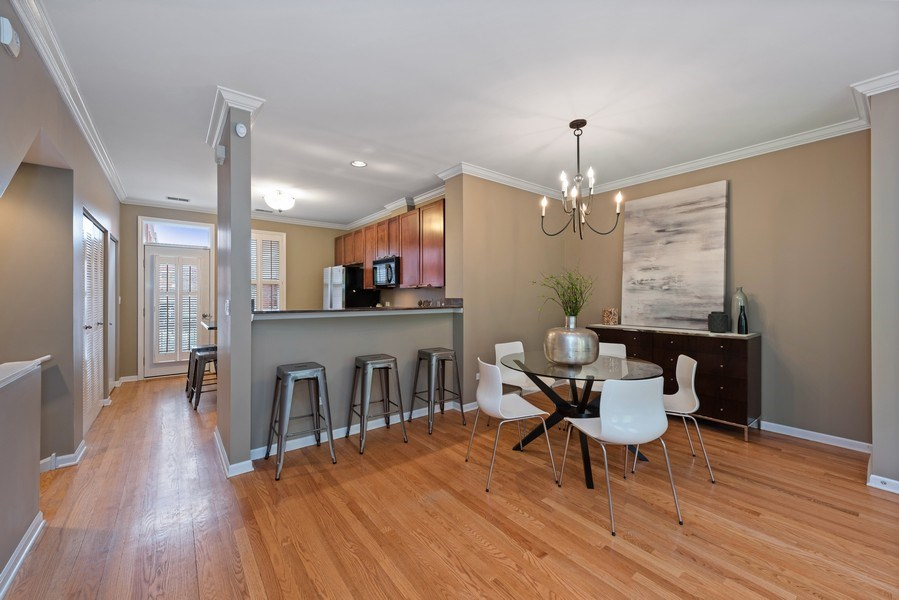Real Estate Photography - 1012 N. Crosby, Chicago, IL, 60610 - Dining Room