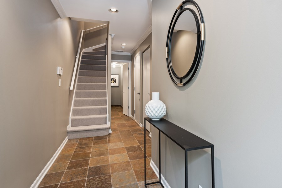 Real Estate Photography - 1012 N. Crosby, Chicago, IL, 60610 - Foyer