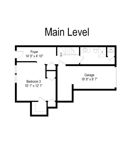 Real Estate Photography - 1012 N. Crosby, Chicago, IL, 60610 - Floor Plan