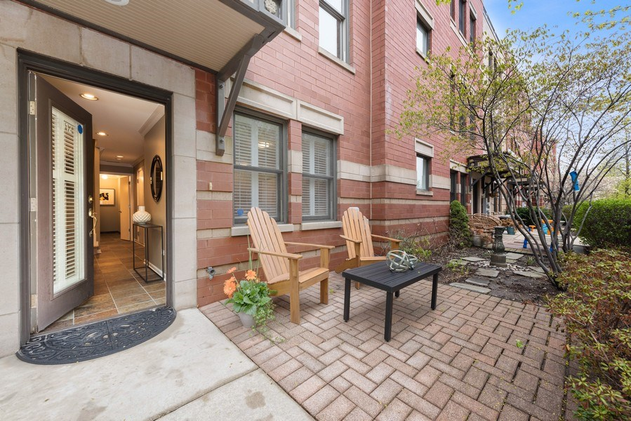 Real Estate Photography - 1012 N. Crosby, Chicago, IL, 60610 - Patio