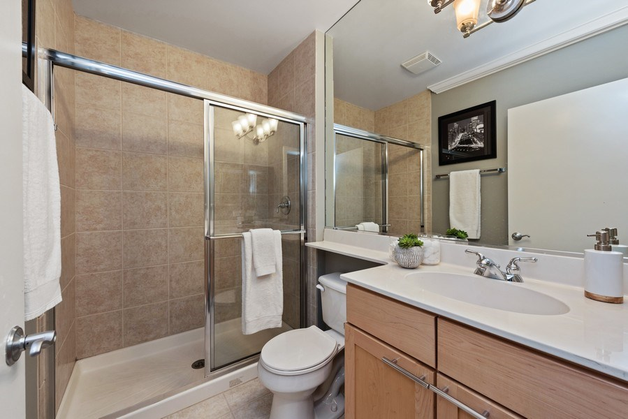 Real Estate Photography - 1012 N. Crosby, Chicago, IL, 60610 - 2nd Bathroom