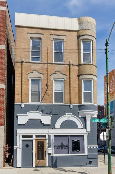 Real Estate Photography - 851 N. Ashland Ave., Chicago, IL, 60622 - Front View