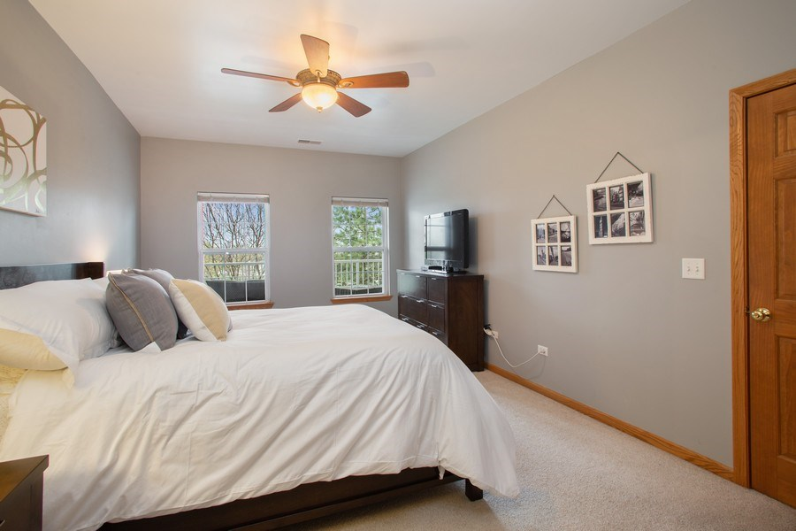 Real Estate Photography - 1283 W Lake St, #203, Addison, IL, 60101 - Master Bedroom