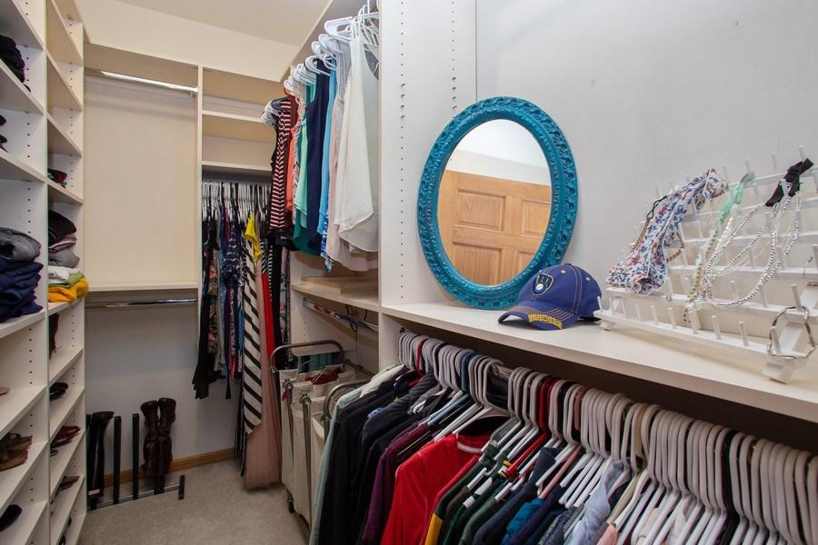 Real Estate Photography - 1283 W Lake St, #203, Addison, IL, 60101 - Closet