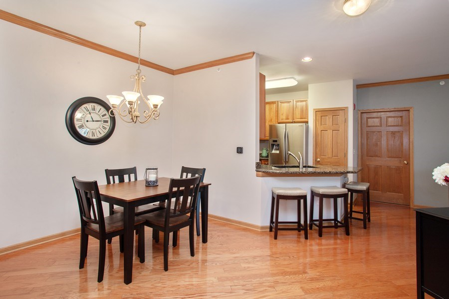 Real Estate Photography - 1283 W Lake St, #203, Addison, IL, 60101 - Kitchen / Dining Room