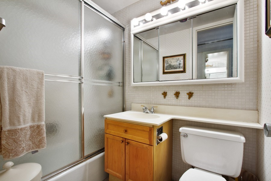 Real Estate Photography - 1700 E 56th St, Unit 802, Chicago, IL, 60637 - Master Bathroom