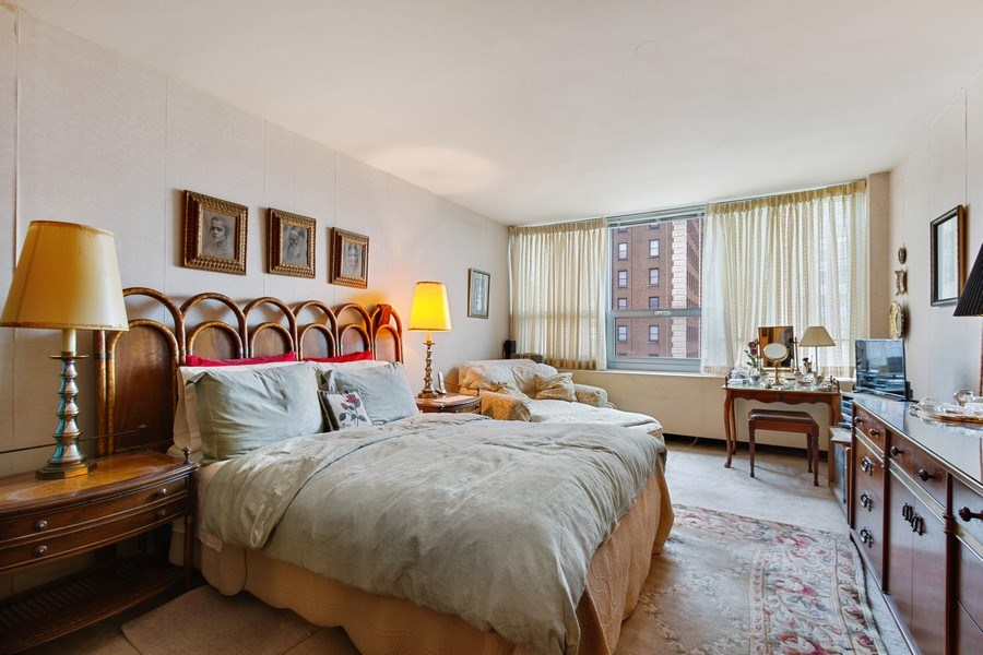 Real Estate Photography - 1700 E 56th St, Unit 802, Chicago, IL, 60637 - Master Bedroom