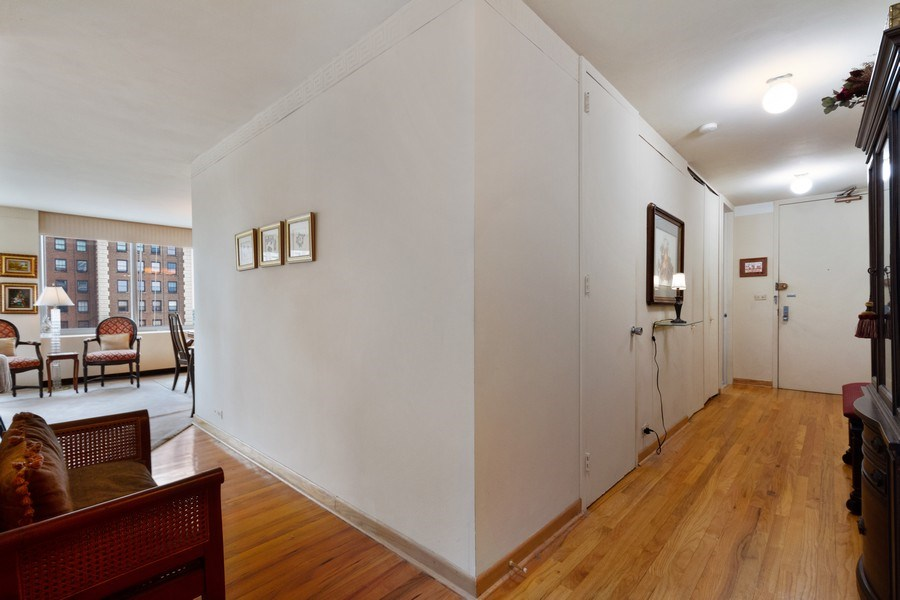 Real Estate Photography - 1700 E 56th St, Unit 802, Chicago, IL, 60637 - Hallway