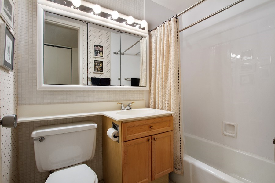 Real Estate Photography - 1700 E 56th St, Unit 802, Chicago, IL, 60637 - Bathroom
